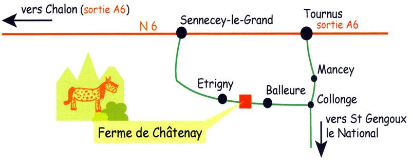 La Ferme de Chatenay école d'équitation Étrigny